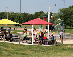 Activity Center Park Sprayground