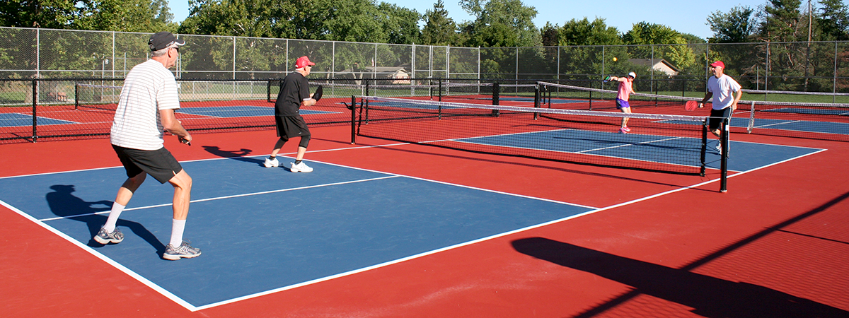 Activity Center Park pickleball courts
