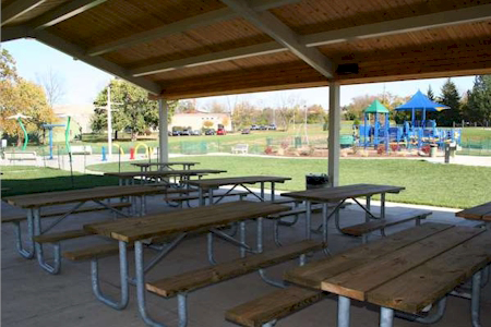 Activity Center Park shelter