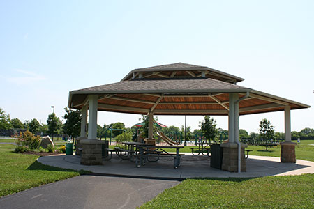 Oak Grove Park Rotary shelter