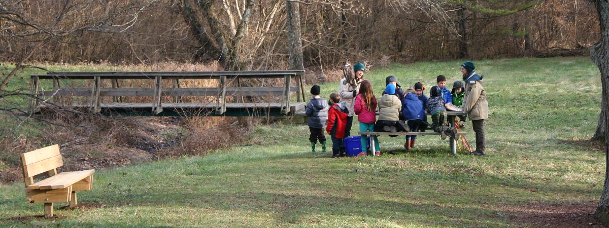 Children's program at Forest Walk Park