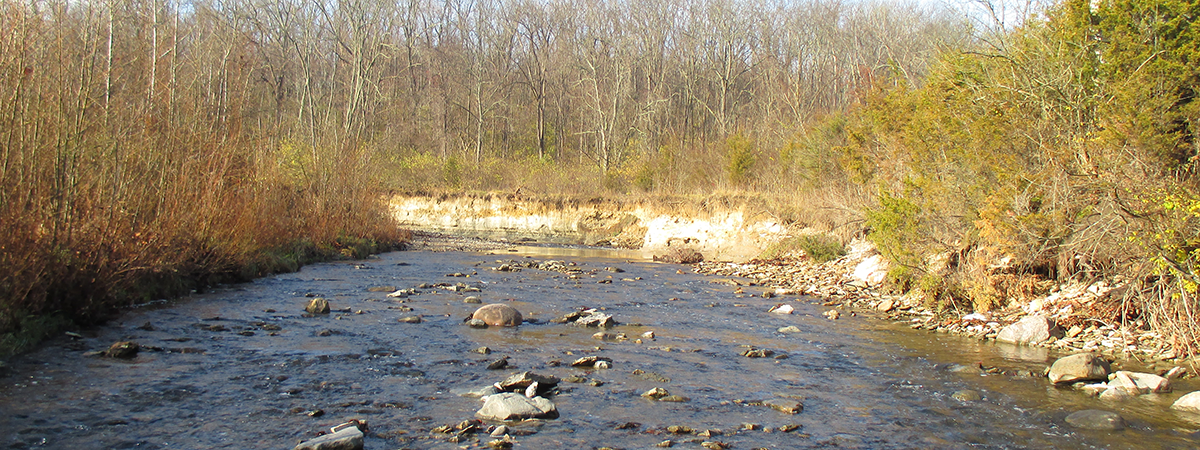 Holes Creek at Huffman Park