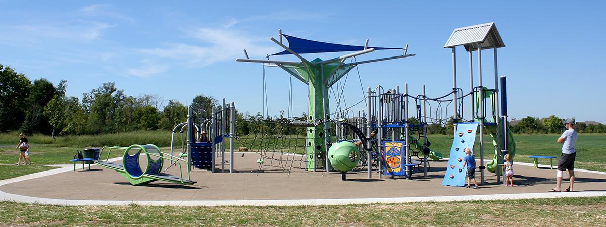 Robert F. Mays Park playground