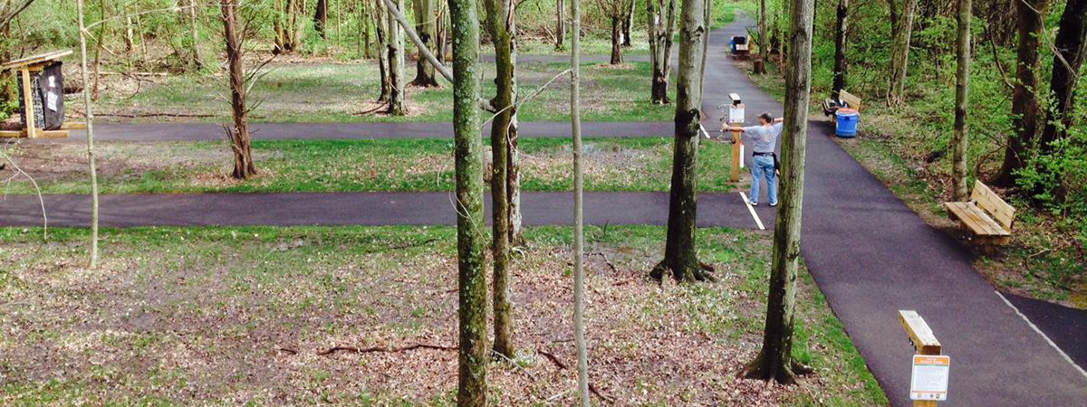 Oak Grove Park archery range