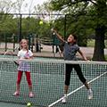 Centerville-Washington Park District tennis instruction