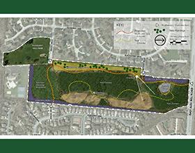Pleasant Hill Park expansion plan 2017