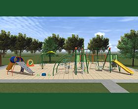 Iron Horse Park playground plans
