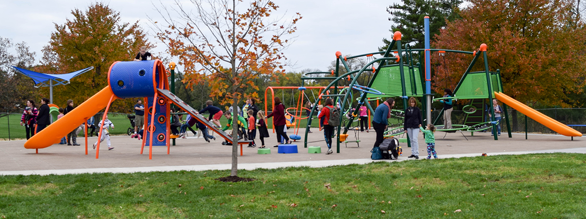 Iron Horse Park playground