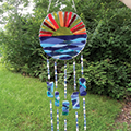 glass fusing wind chime