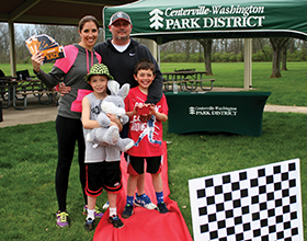 Centerville-Washington Park District 2017 Amazing Race winners