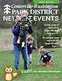 Centerville-Washington Park District spring 2018 News & Events cover