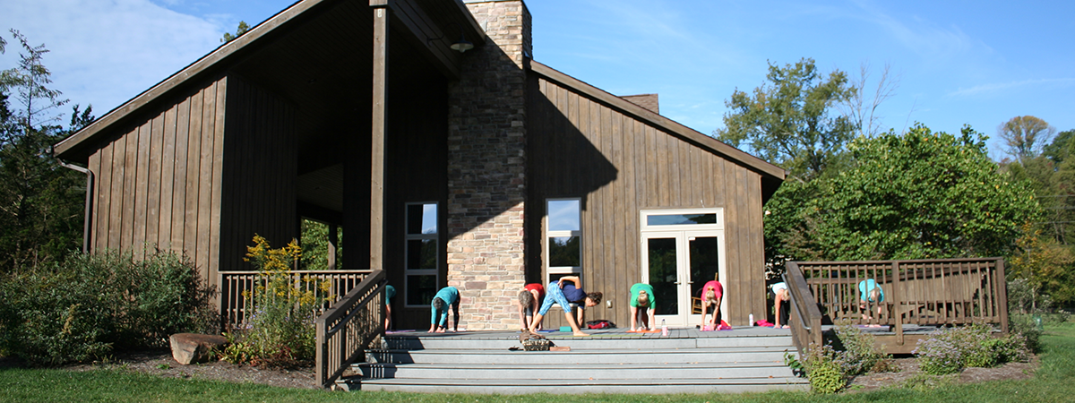 yoga class at Grant Park's Kennard Nature Nook