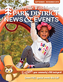 Centerville-Washington Park District News & Events fall 2018 cover