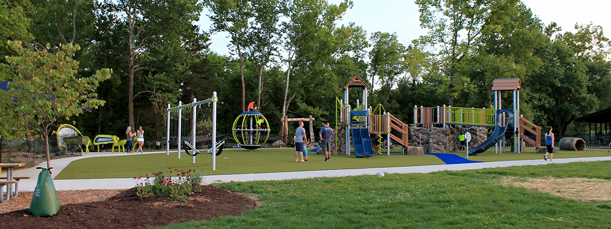 playground at Forest Field Park
