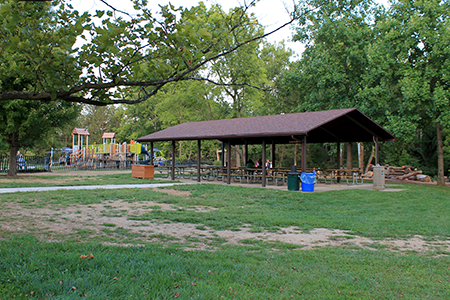 shelter at Forest Field Park