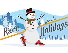 Race to the Holidays logo