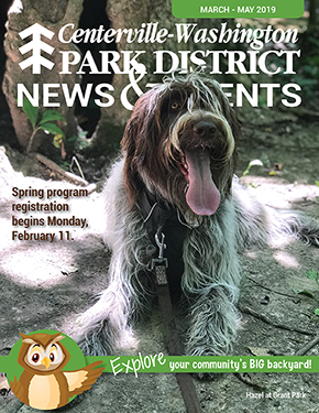 Spring 2019 news and events magazine cover