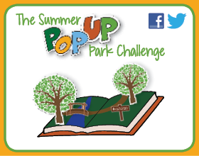The Summer Pop-Up Park Challenge graphic