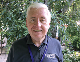 CWPD volunteer Bill Keegans