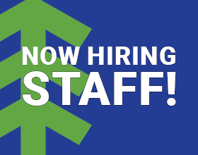 Now Hiring Staff!
